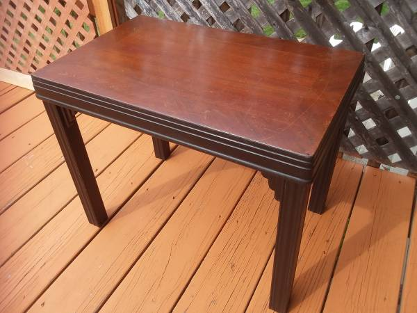 Photo Small Period Art Deco Table - $35 (Walden)