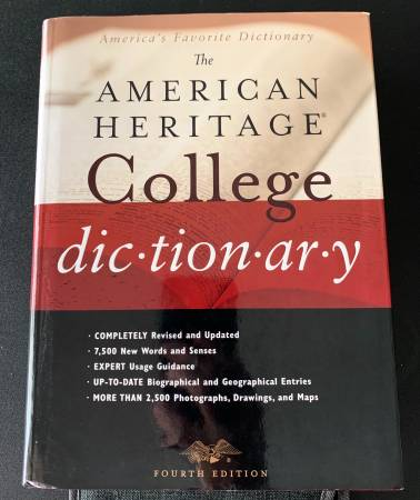 Photo The American Heritage College Dictionary - $10 (Fishkill)
