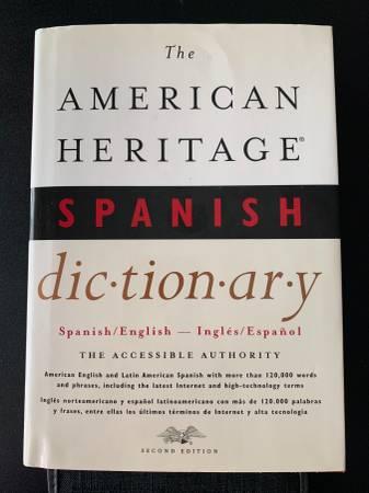 Photo The American Heritage Spanish Dictionary - $10 (Fishkill)