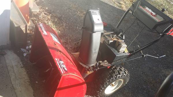 Photo Two Stage Self Propelled Snow Blower - $200 (Big Indian NY)