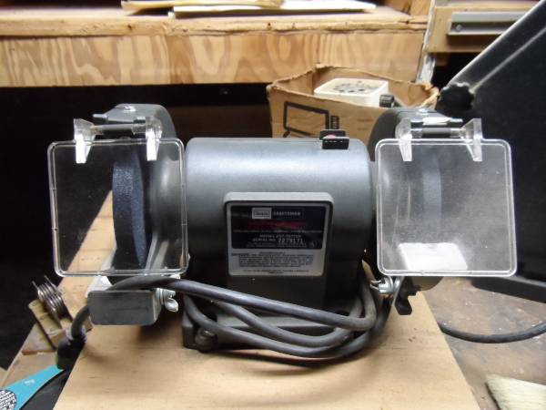 Photo Used Sears Craftsman Bench Grinder 5quot x 12quot - $50 (Middletown, NY)