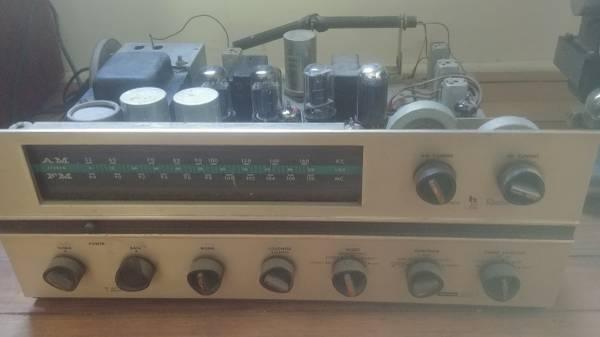 Photo Vintage Harman Kardon tube receiver - $175 (Livingston Manor)