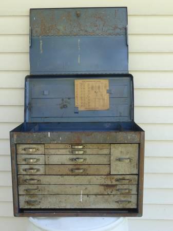 Photo Vintage Huot tool box - $150 (TPoughkeepsie)