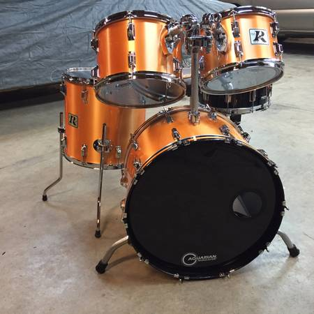 Photo Vintage Rogers Drum Kit - $995 (MONTGOMERY)