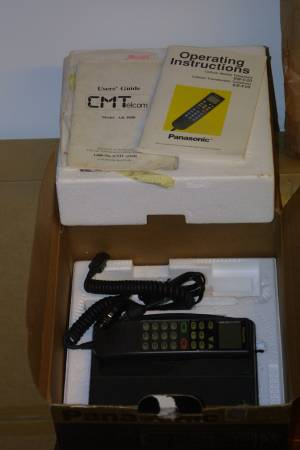 Photo Vintage Transferable Panasonic cellular telephone, model EB-F20 - $10 (orange county)