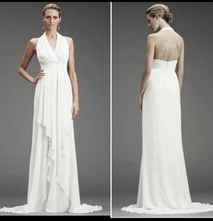 Photo WEDDING GOWN - NICOLE MILLER - New wTags, Factory Sealed, Size 6 - $175 (Germantown)