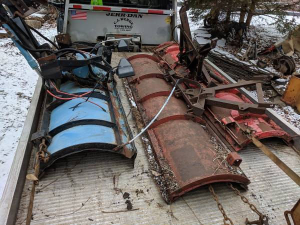 Photo Western Snow plow 8ft - $150 (Budd lake 07828 nj)
