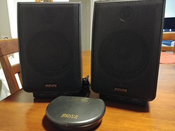Photo Wireless Speakers - Advent - $50 (Town of Newburgh)