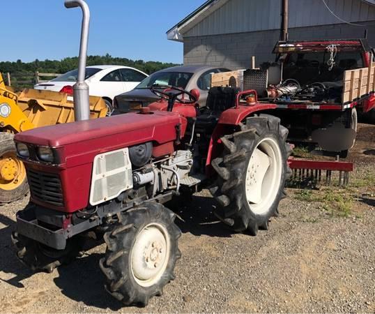 Photo Yanmar YM1500 Tractor with 4 Foot York Rake - $2650 (Lagrangeville)