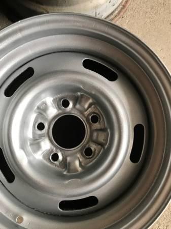 Photo chevy rally wheels - $250 (tillson)