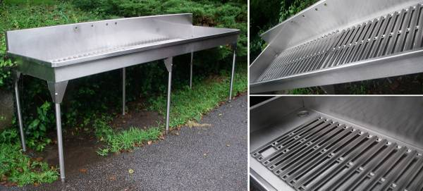 Photo stainless steel sink - $850 (ahopac, NY)