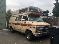 1987 Chevy Van 20 Horizon 170 Camper Conversion High Top