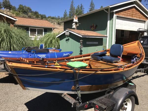 Photo 16 foot Don Hill style drift boat - $4,800 (Shady Cove)