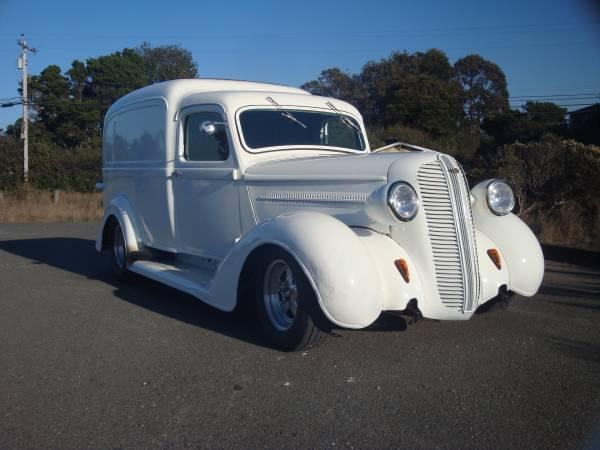 Photo 1937 dodge humpback panel truck - $35000 (arcata)