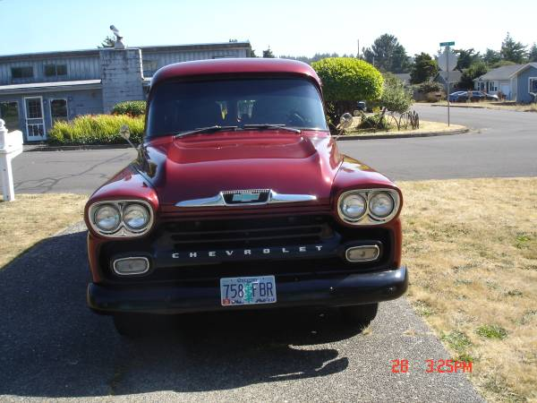 Photo 1958 Chevy Panel Truck - $19,500 (Florence)