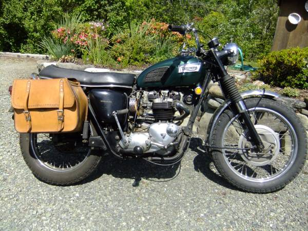 Photo 1970 Triumph 650 TR6C - $7,900 (McKinleyville)