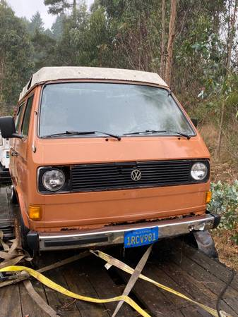 Photo 1980 VW Vanagon Westfalia - $4,250 (bayside)