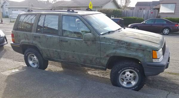 Photo 1993 Jeep Grand Cherokee Limited 4.0 - $3000 (Eureka)