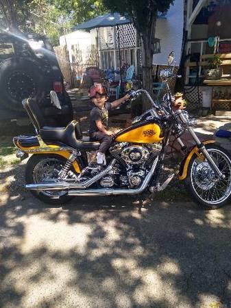Photo 2000 Harley Davidson Wide Glide - $7,500 (Redding)