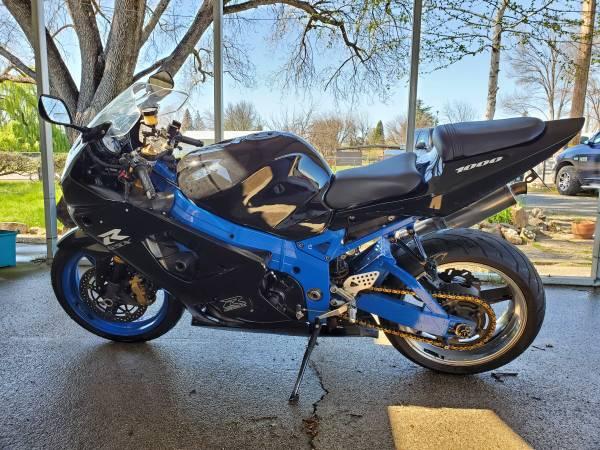 Photo 2003 Suzuki GSX-R 1000 - $5,000 (Anderson)