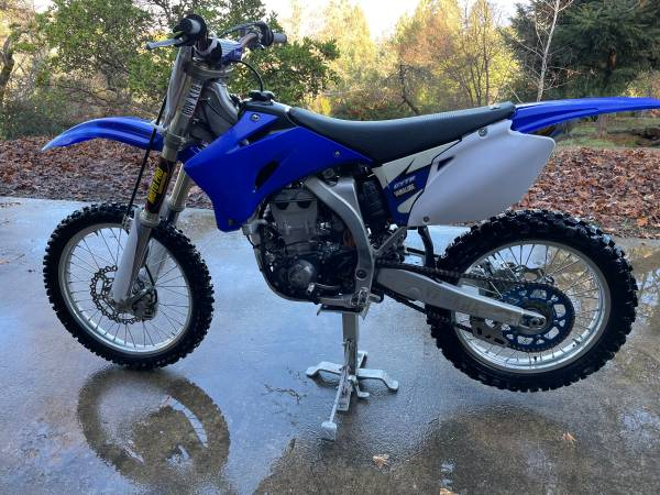 Photo 2008 Yamaha 450F Dirt Bike For Sale - $4,000 (Redwood Valley)