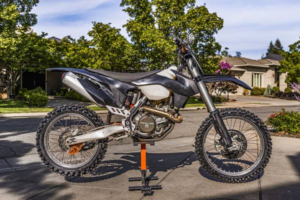 Photo 2013 KTM 450 SX-F with Low Hours - $6,500 (Chico)