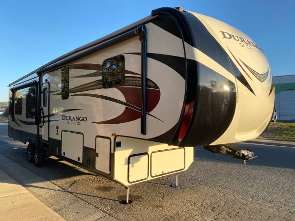 Photo 2016 Durango Gold K-Z Full Time Luxury Fifth Wheel Travel Trailer - $29,500 (Rancho Cordova)