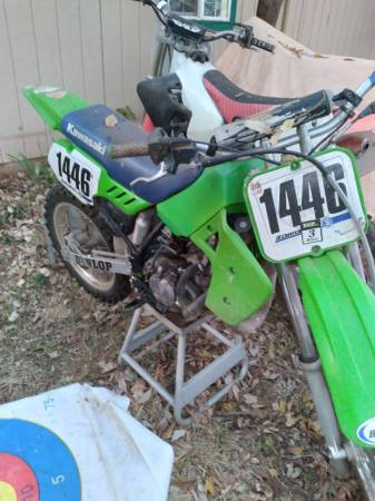 Photo 3 dirt bikes for sale. Kx 80, yz85, cr125 - $3,000 (Anderson)