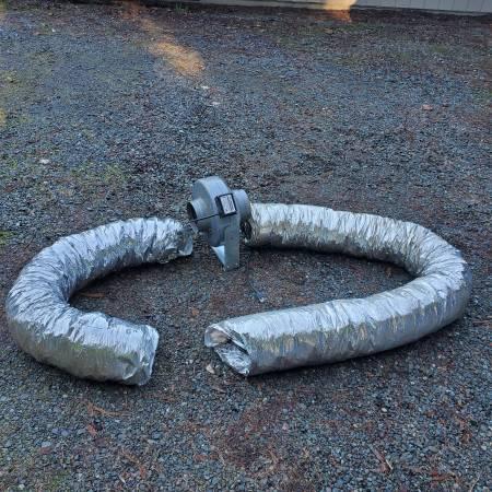 Photo 4 inch and 6 inch Vortex squirrel cage fans - $130 (Trinidad)