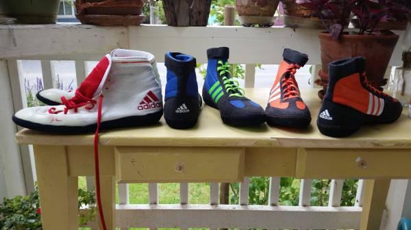 Photo Adidas wrestling shoes men - $25 (Arcata)