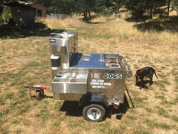 Photo All American hot dog cart - $2250