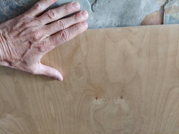 Photo Birch plywood 439 x 439 x 12quot new - $25 (arcata, ca)