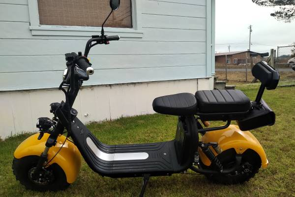Photo Electric fat tire scooter - $2,500 (Samoa)
