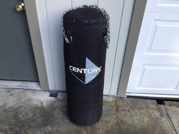 Photo Heavy kick boxing bag - $65 (Eureka)
