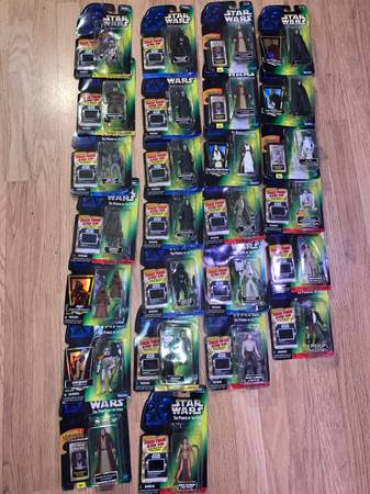 Photo Kenner Star Wars The Power of the Force Action Figures - $10 (Arcata)