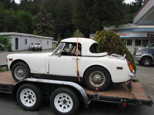 Photo MG MIDGET complete for parts or restoration (Garberville)