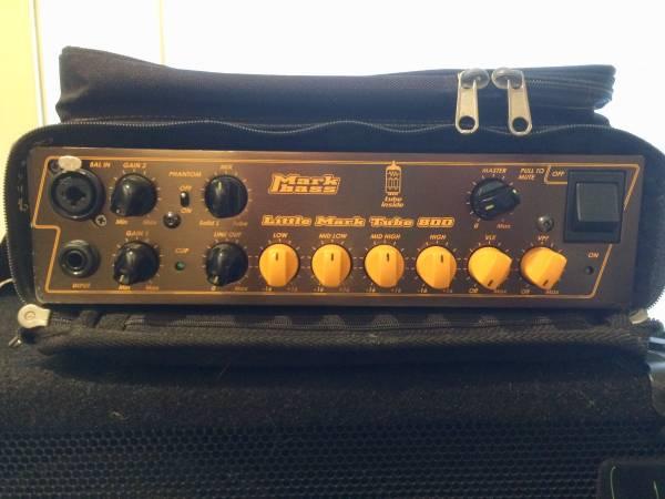 Photo Markbass - Little Mark Tube 800 Bass Amp - $550 (EUREKA)