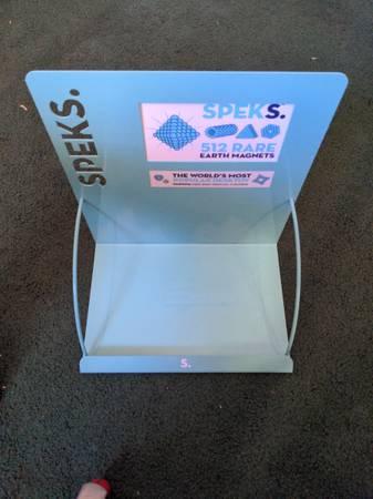 Photo Metal Speks Retail Display (Arcata)