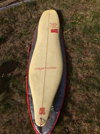 Photo Meyerhoffer My XYZ Longboard Surfboard 9ft 1 in - $450 (Crescent City)