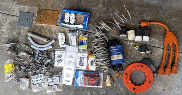 Photo Romex  Electrical supplies - $75 (arcata, ca)