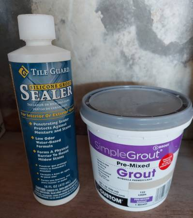 Photo Simple Grout  Grout Sealer - $10 (arcata, ca)