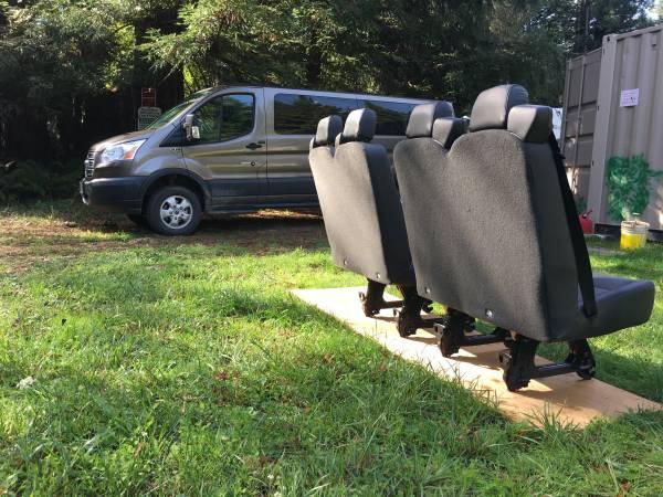 Photo Van Bench Seats- NEW - $800 (Crescent City, CA)