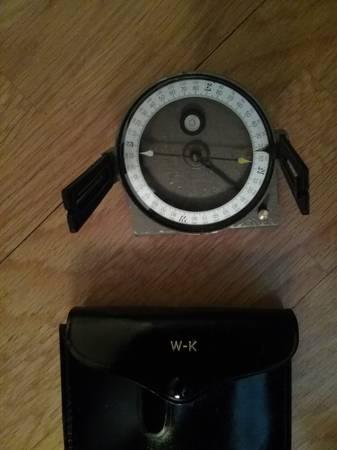 Photo Vintage Warren Knight Forester Staff Compass - $100 (Redding)