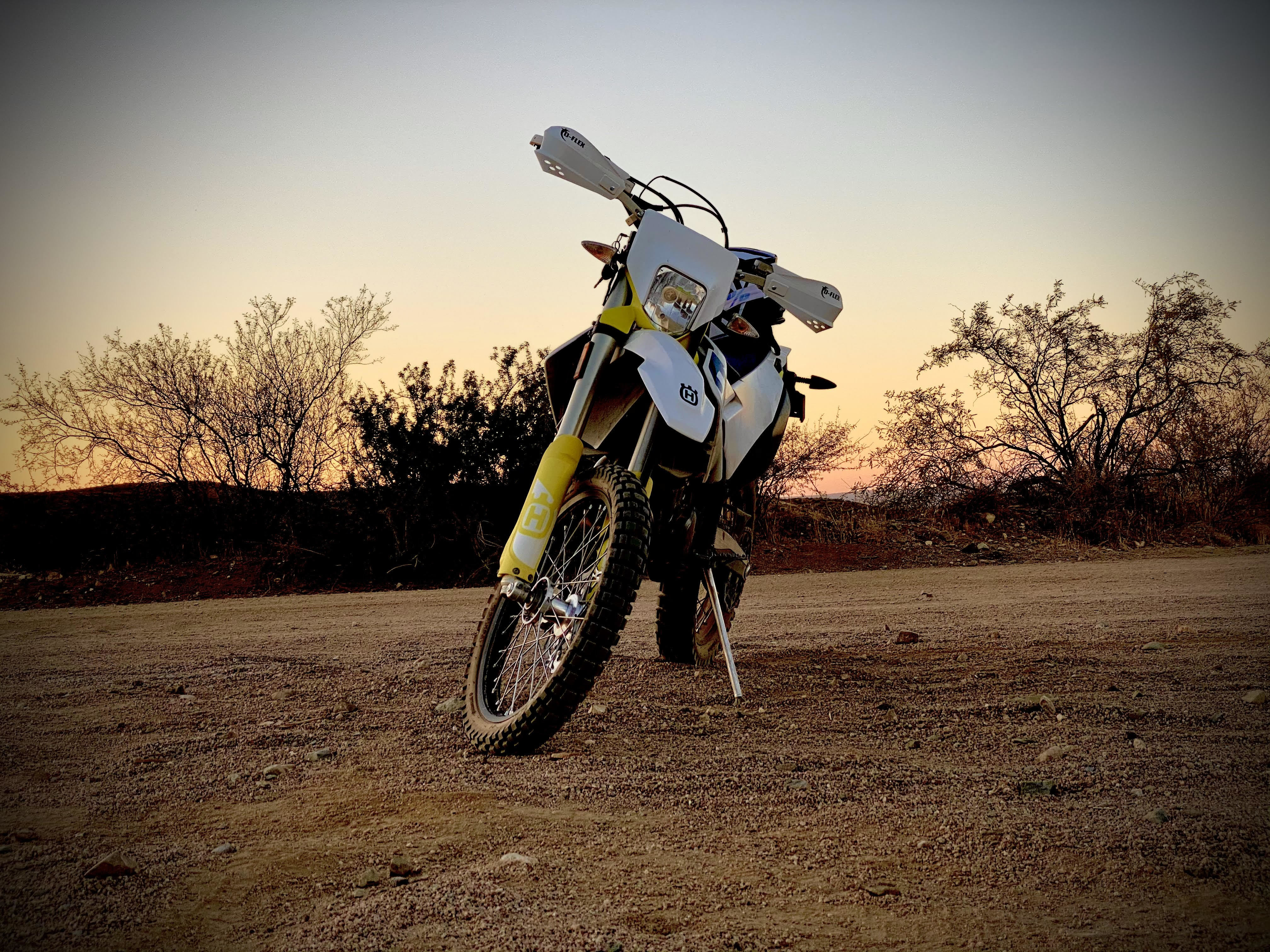 Photo Used 2020 Husqvarna Dual Sport Motorcycle  $10000