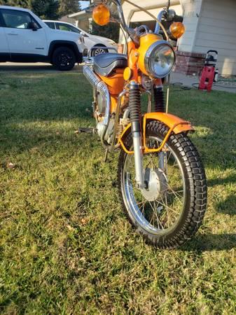 Photo clean 1974 Honda Trail 90 - $1,600 (Chico)