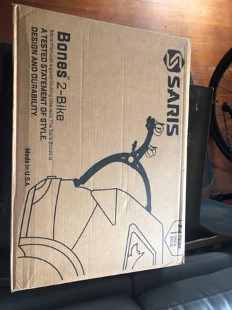 Photo brand new trunk bike rack - $160 (Arcata)