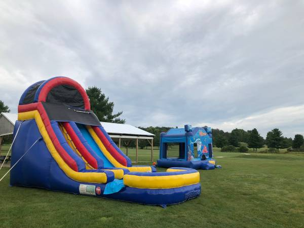 Photo 18 FT commercial bounce house slide inflatable - $1,500 (Gallipolis)