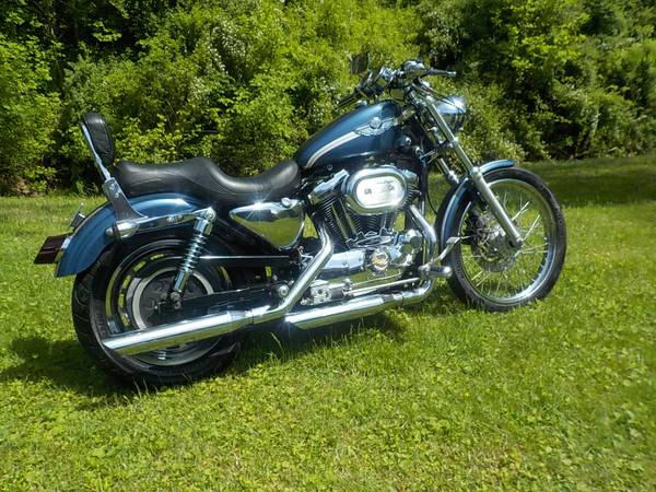 Photo 2003 HARLEY 1200 SPORSTER , 100TH ANNIVERSARY EDITION SCREAMIN EAGLE - $4,450 (COOLVILLE)