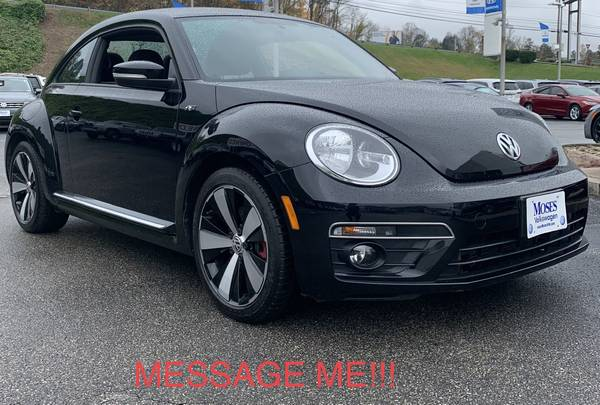 Photo 2014 VW BEETLE 2.0 TURBO R-LINE LIMITED EDITION RARE FIND - $15,400 (9-10 APPROVED WITH ZERO MONEY DOWN 9-10 PEOPLE APPROVED)