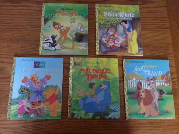 Photo Disney Little Golden Books - $25 (South Point)